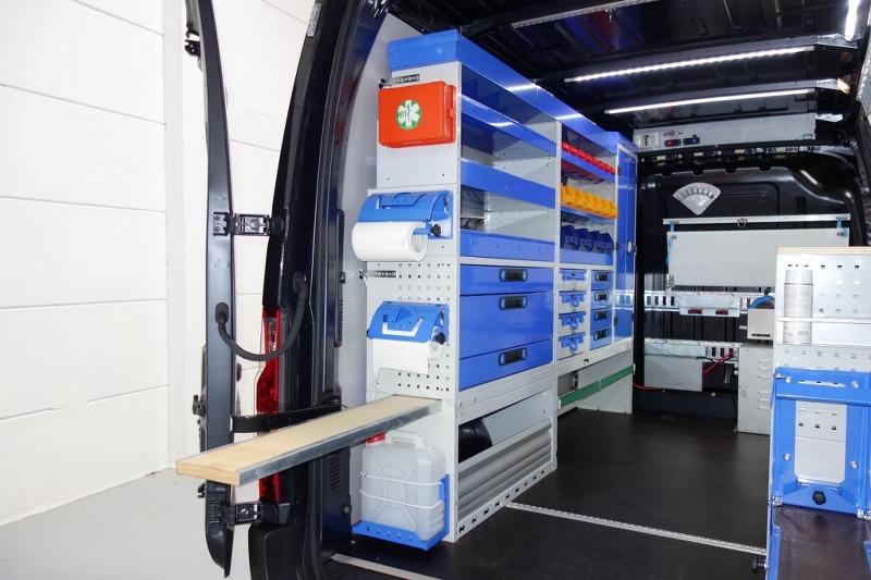 Trasformare un furgone in officina mobile